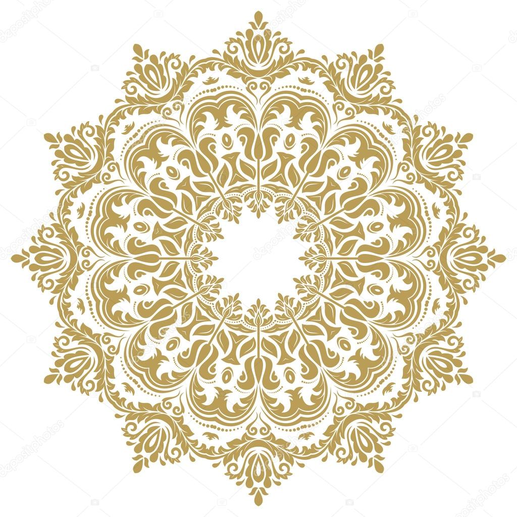 oriental abstract vector pattern stock vector turr1 103164460