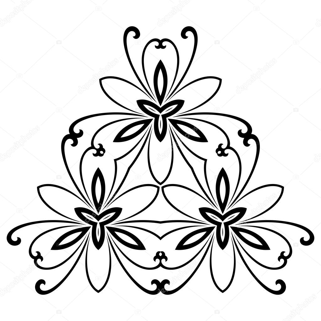damask vector pattern orient ornament stock vector turr1 63097127 rh depositphotos com vector floral pattern black and white vector floral pattern black and white