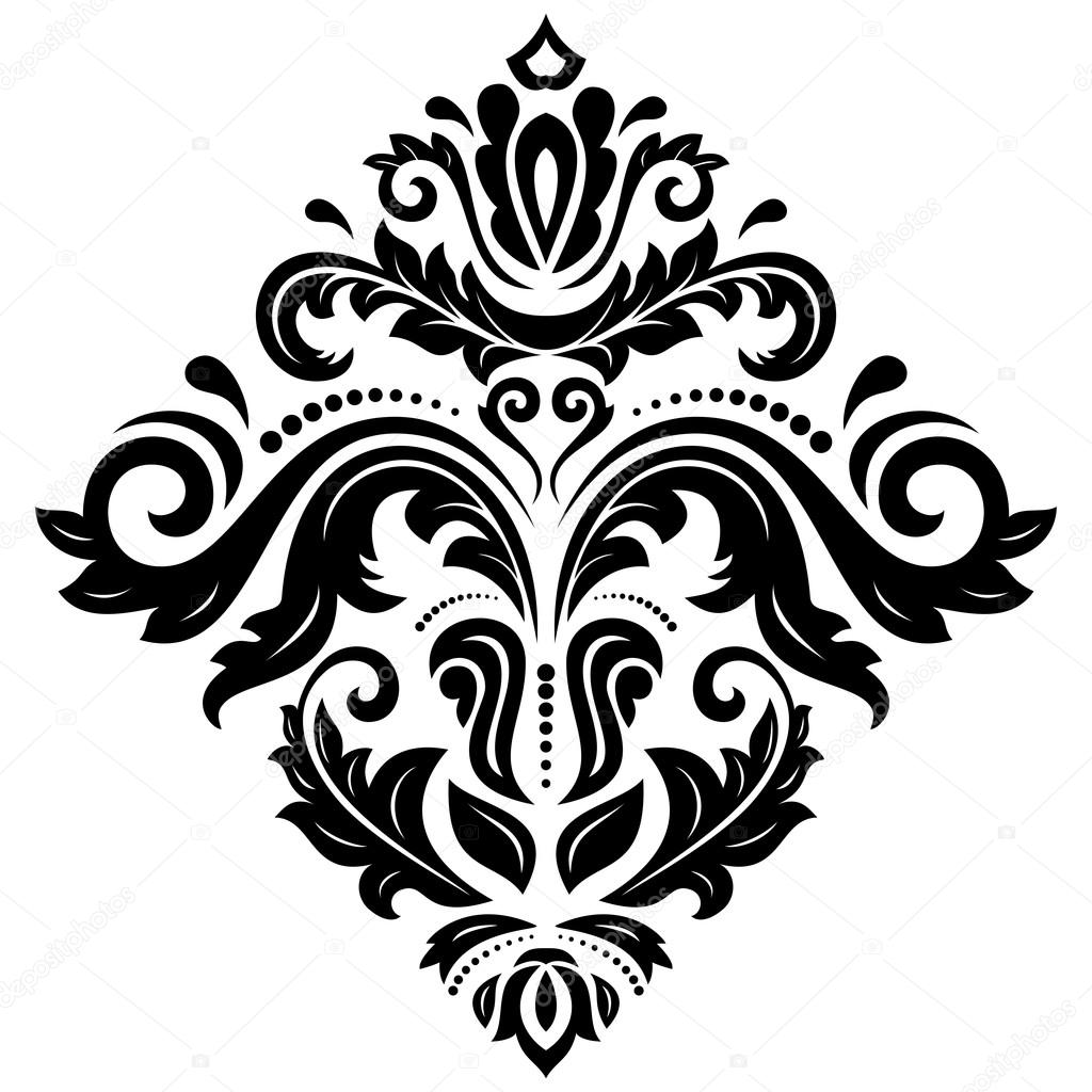 damask vector orient pattern stock vector turr1 68712785 rh depositphotos com damask vector damask vector download
