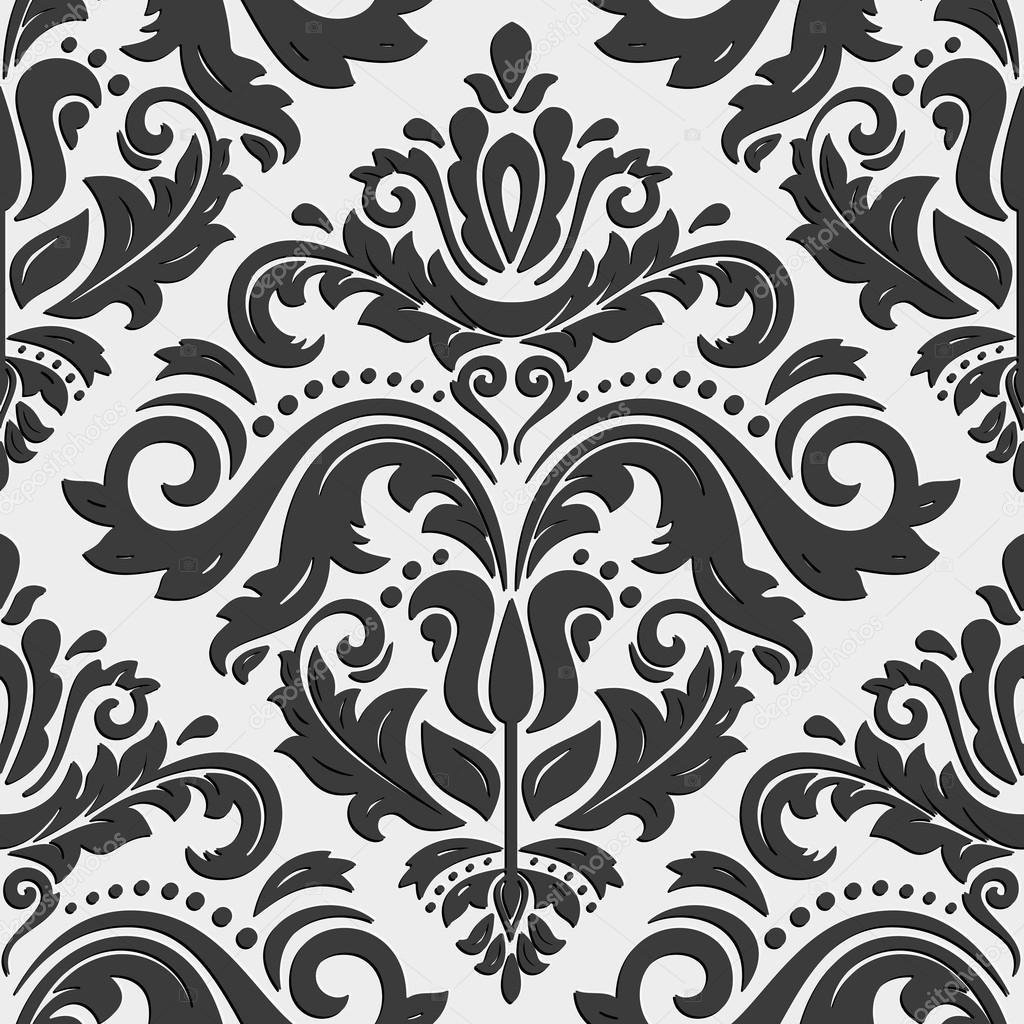 nahtloser vektor orientalische muster mit 3d elementen stockvektor 83437150. Black Bedroom Furniture Sets. Home Design Ideas