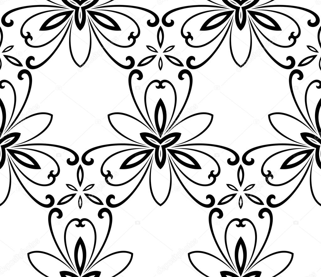 floral fine seamless vector pattern stock vector turr1 93311066 rh depositphotos com floral vector pattern in ai floral vector pattern in ai