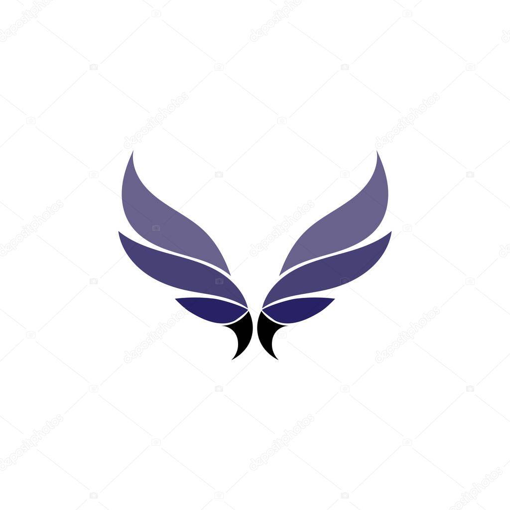 Falcon Wings Logo Template vector icon logo design icon