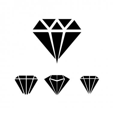 Diamond and Jewel design vector Logo Template symbol icon