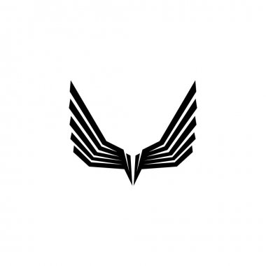 Falcon Wings Logo Template vector icon logo design icon