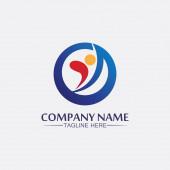succes logo teamarbeit marke und business logo, vektorgemeinschaft, einheit bunt und freundschaft, partner teamarbeit pflege logo