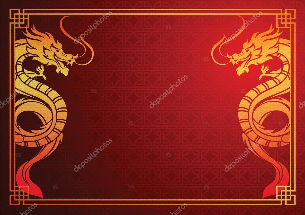 chinese dragon template stock vector 10comeback 115920484
