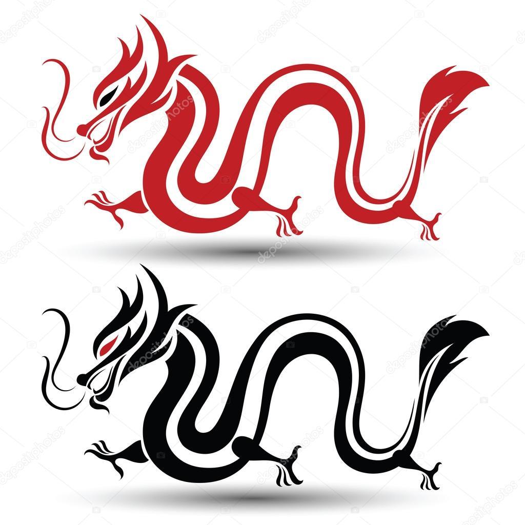 Vecteur De Dragon Chinois Image Vectorielle 10comeback C 115922898
