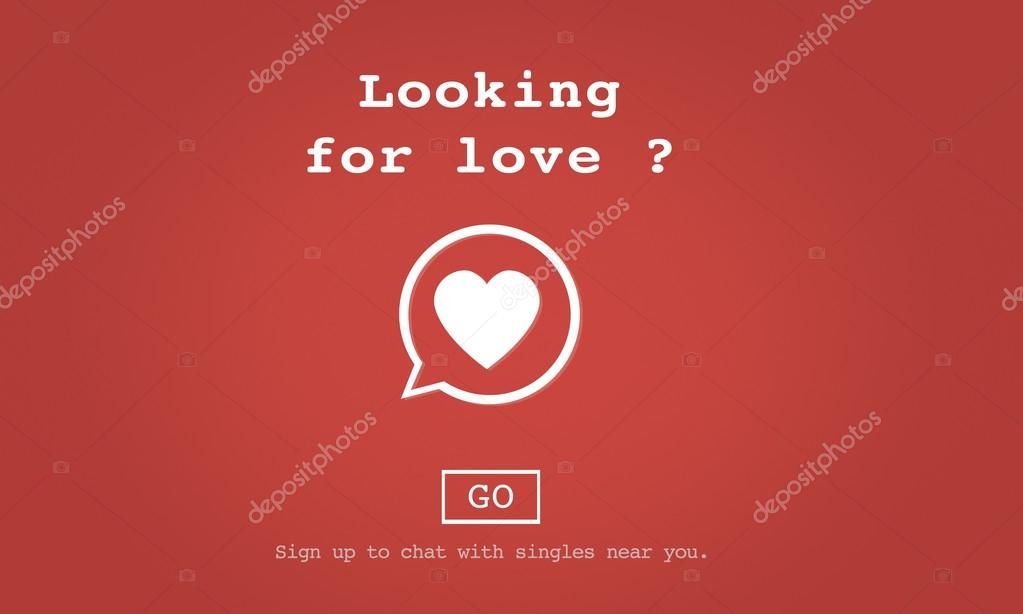 Vorlage Mit Auf Der Suche Nach Liebe Konzept Stockfoto Rawpixel
