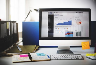 monitor with Strategy Research Data