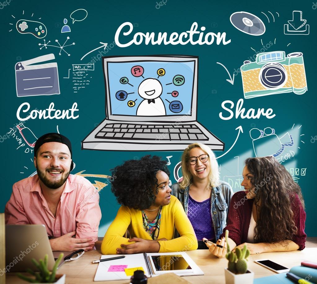 Connection Social Media