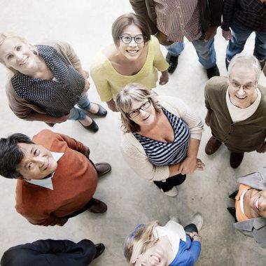 Multiethnic People Smiling