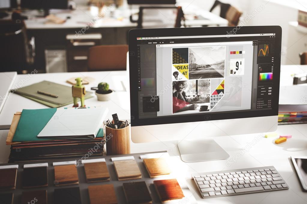 Studio ontwerpconcept u stockfoto rawpixel