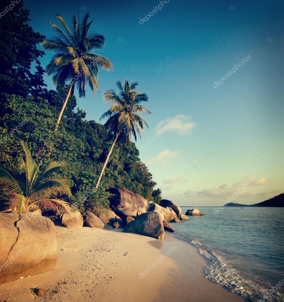 Malaysian Beach at Summer