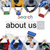 Chi siamo, informazioni, concetto di marca