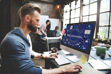 man and Programming Digital Computer Concept