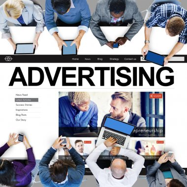 Advertising Campaign, Branding Marketing Concept