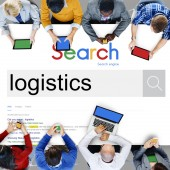 Business People and Technology Search Concept
