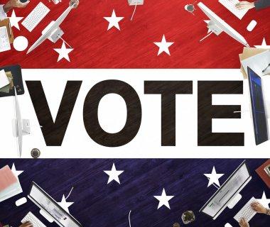 business people and vote