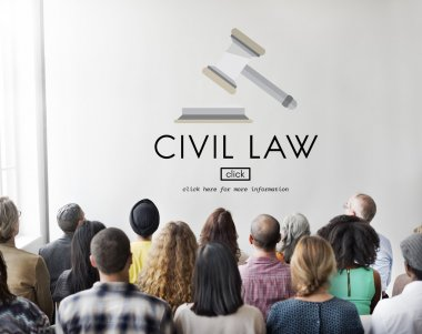 people at seminar with Civil Law