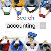 Accounting, Finance Money Concept
