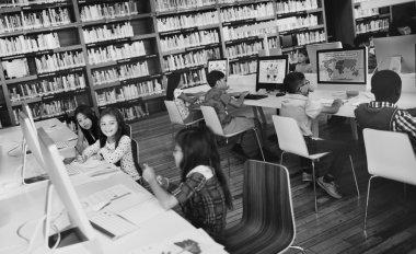 classmates using computers
