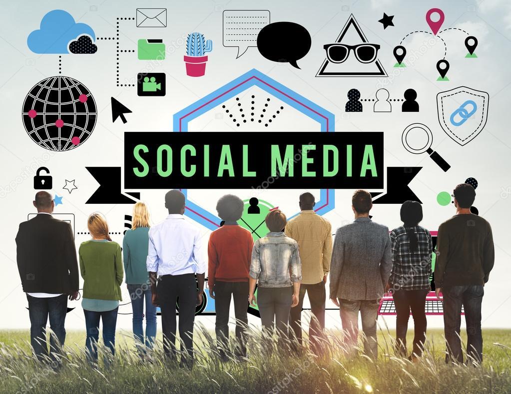 Social Media Technology Concept