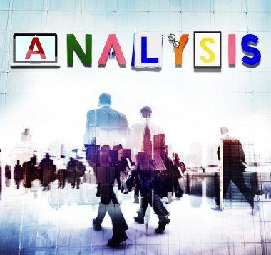 Business People with Analysis Concept