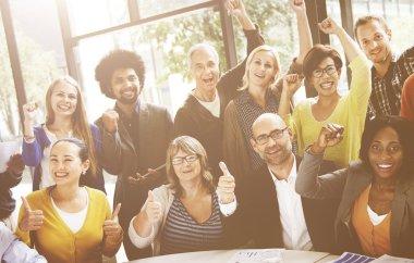 Multiethnic Business Team