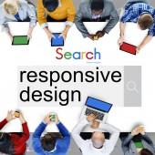 Responsive Design,  Content Browser Concept