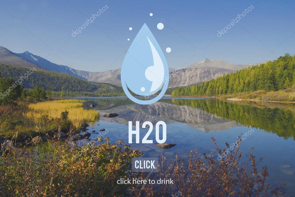 nature landscape and H2O Concept