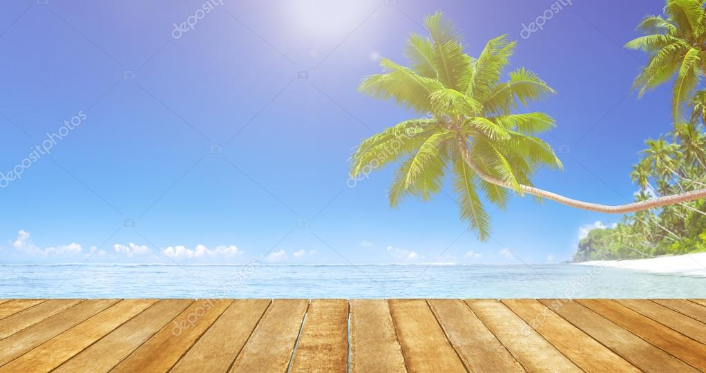 Tropical Paradise Beach Concept