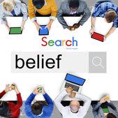Belief Faith, Religion, Worship Concept