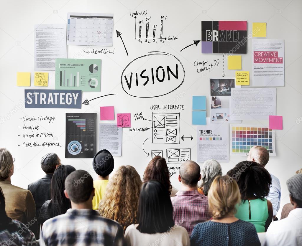 people at seminar with Vision