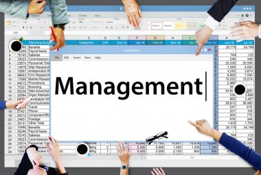 Business People and Management Organization Concept