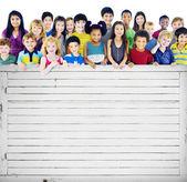 Fotografie adorable smiling children