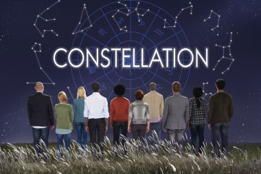 Multiethnic People and Constellation Concept
