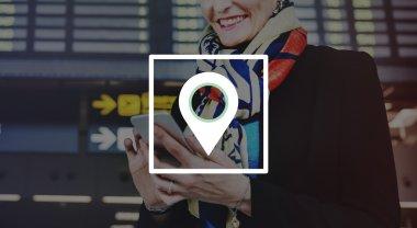 Woman holding Smart Phone
