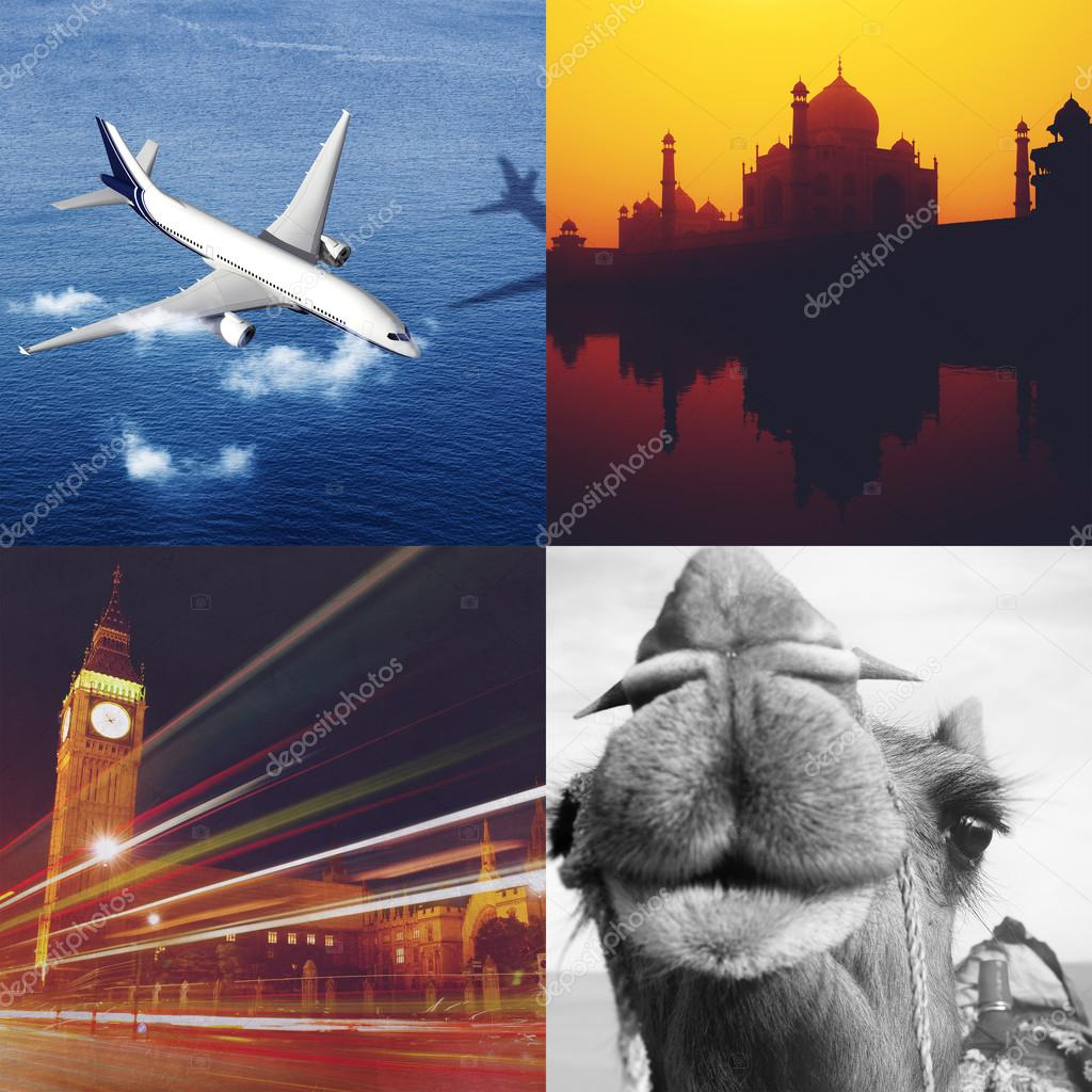 Exciting Travel Collage