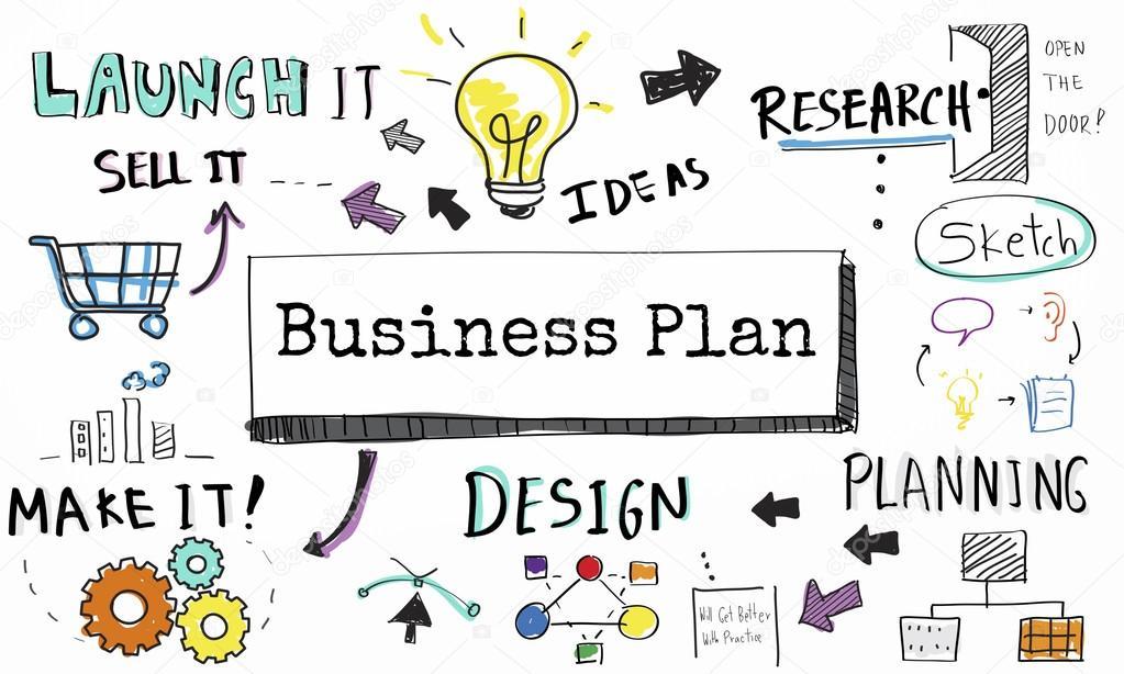 Vorlage mit Business-Plan-Konzept — Stockfoto © Rawpixel #114172144