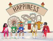 Fényképek A szuperhős-jelmezek gyerekeknek