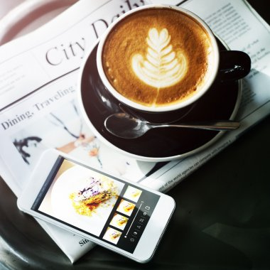 Coffee Shop Cafe Concept