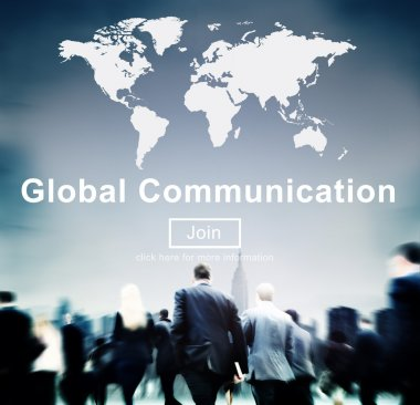 Business People and Global Communication Concept