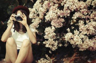 Photographer Shooting Nature
