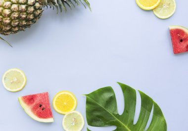Summer Mockup with Fruits