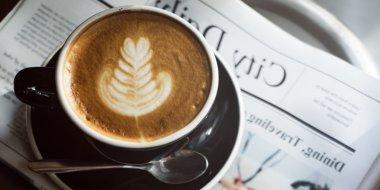Coffee Shop, Cafe Latte  Concept