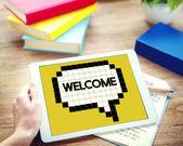 Osoba hospodářství digitální tablet
