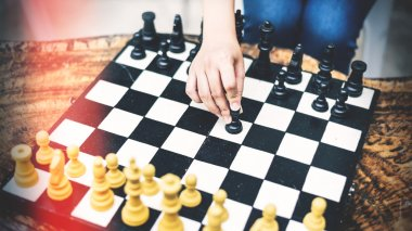 Chess Game Strategy Thinking Hobbies