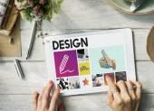 Fényképek Art ceruzával-rajz koncepció
