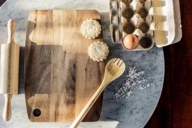 Baking cookies ingredients