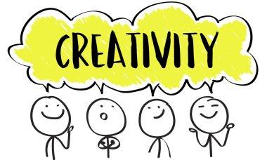 Communication, Creative Thinking Concept